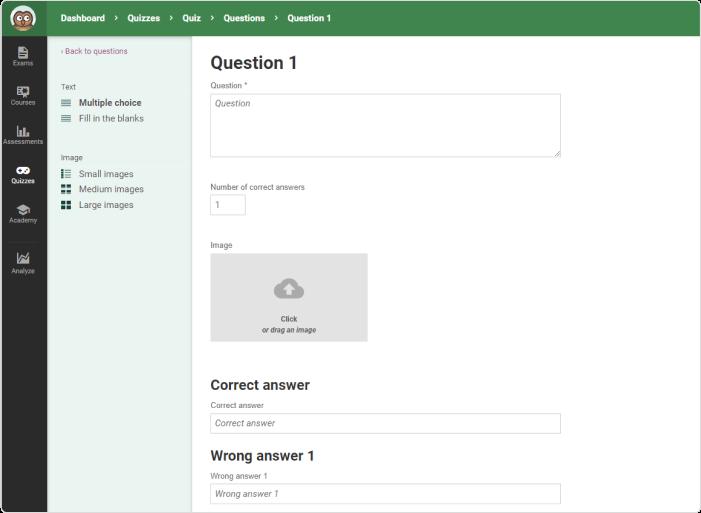 Online Quiz Creator - Program do tworzenia quizów