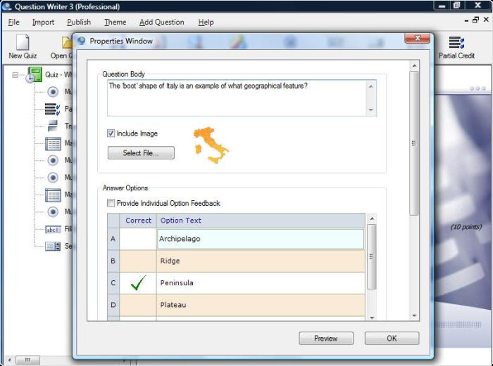 QuestionWriter HTML5 - Program do tworzenia testów